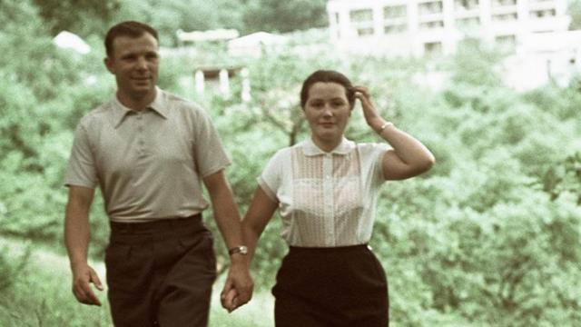 Супруги Гагарины