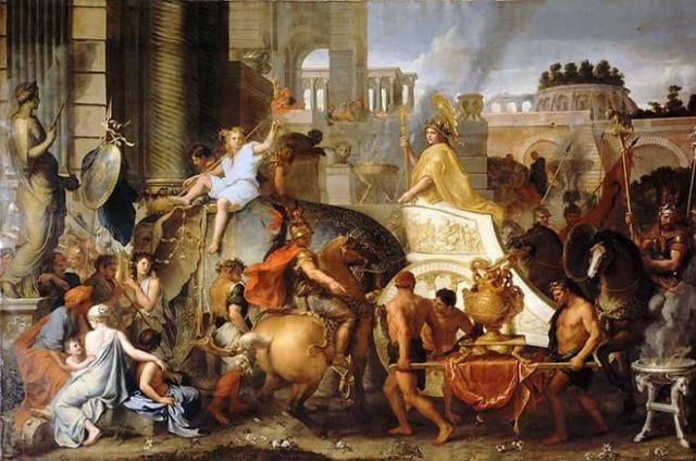 Александр Македонский в Египте