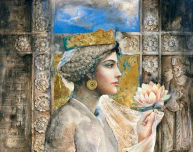 Жена Александра Македонского - Роксана