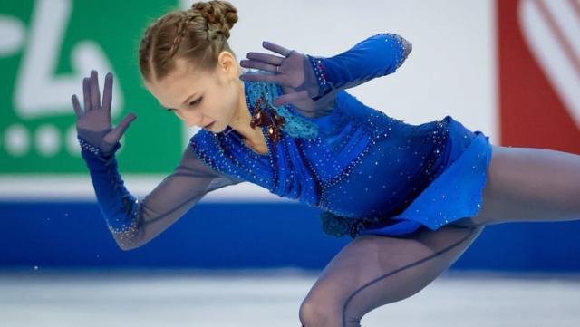 Саша Трусова на Гран-при Канады