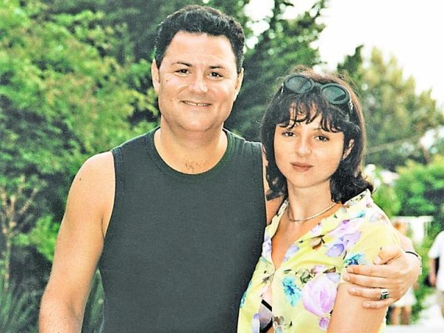 Анна Банщикова с мужем
