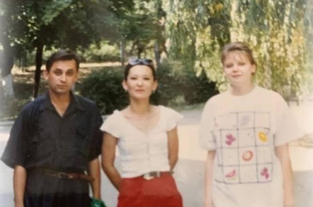 Андрей Трубников в молодости