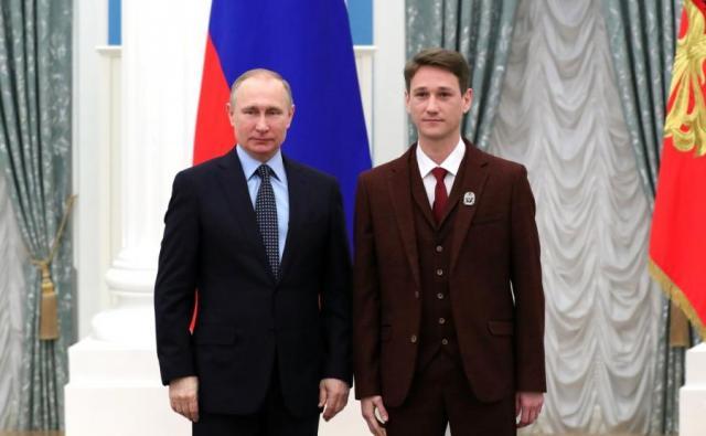 Антон Шагин и Путин