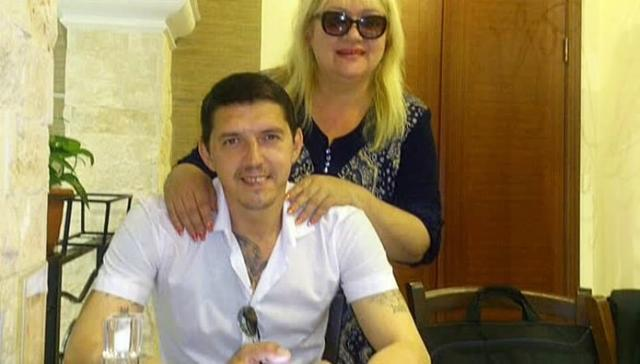 Аркадий Кобяков с женой