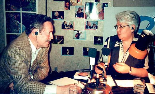 Диана Берлин на радио
