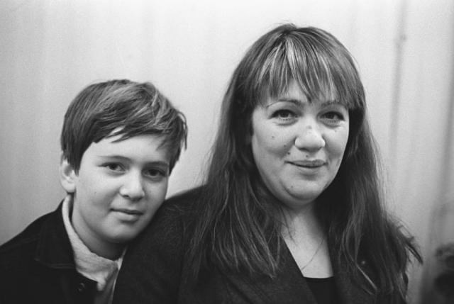 Галина Волчек с сыном