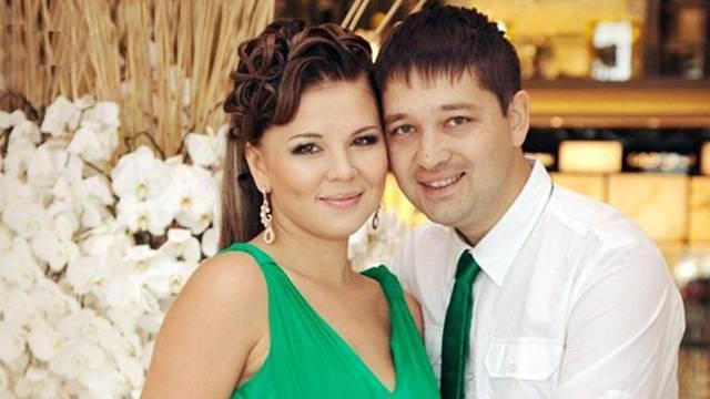 Гузель Уразова с мужем