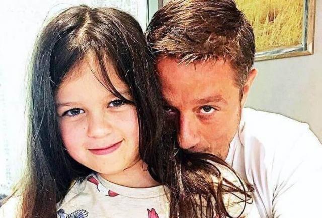 Алексей Макаров с дочкой Варей