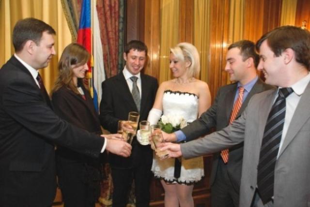 Свадебное фото Марии Захаровой