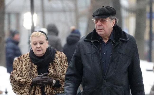 Наталья Дрожжина с мужем