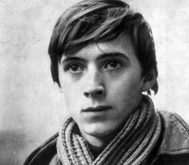 Николай Бурляев в юности