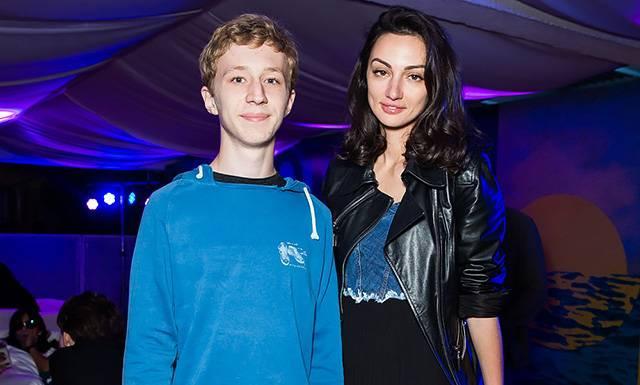 Семен Трескунов с мамой