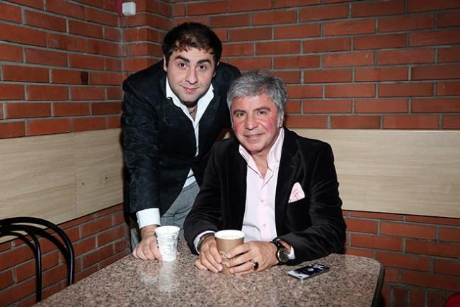Сосо Павлиашвли с сыном