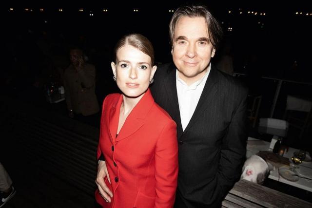 Софья Эрнст с мужем