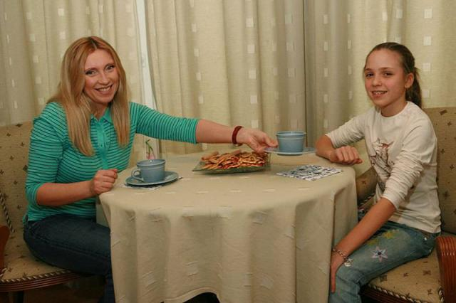 Светлана Мастеркова с дочкой