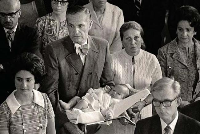 Крестины внучки Сталина
