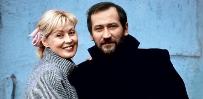 Леонид Филатов и Нина