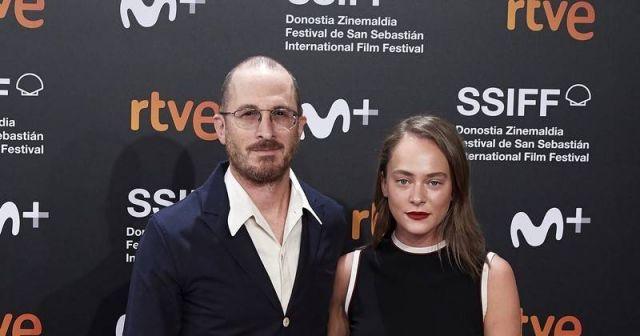 Аглая Тарасова с Дароном Аронофски