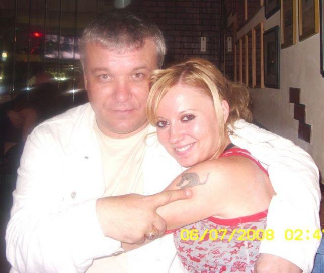 Александр Дюмин с дочкой