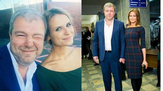 Александр Робак с женой