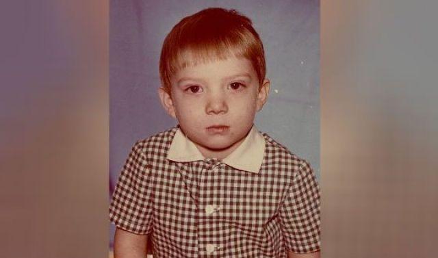 Андрей Бурковский в детстве