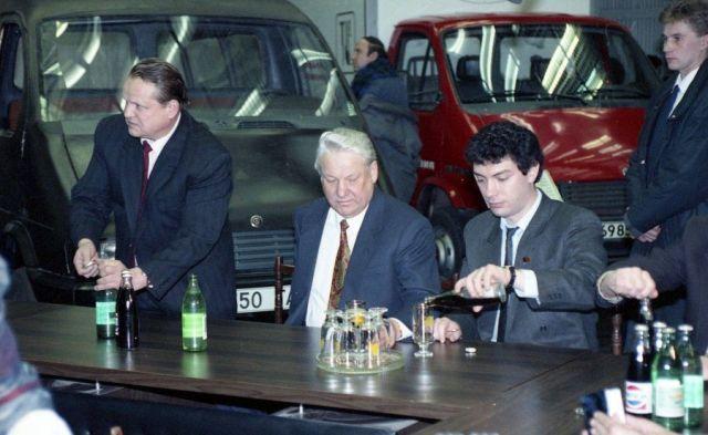 Немцов и Ельцин