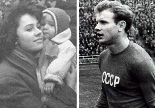 Эдуард Стрельцов и его семья