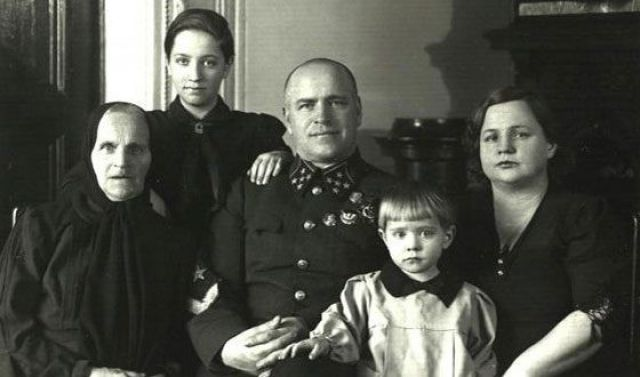 Семья Георгия Жукова