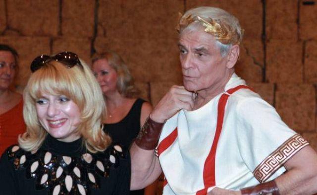 Герард Васильев с женой