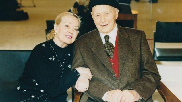 Игорь Моисеев с женой
