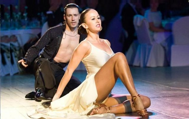 Инна Свечникова в парном танце