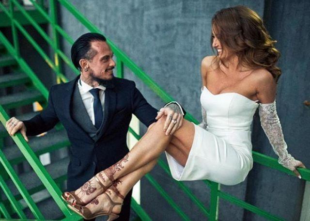 Инна Свечникова и ее первый муж Антонио Фернандес