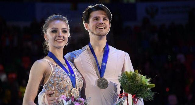 Иван Букин с партнершей