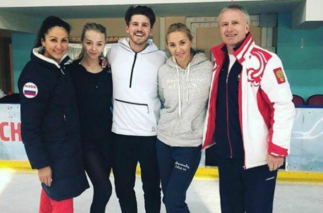 Команда Ивана Букина и Александры Степановой