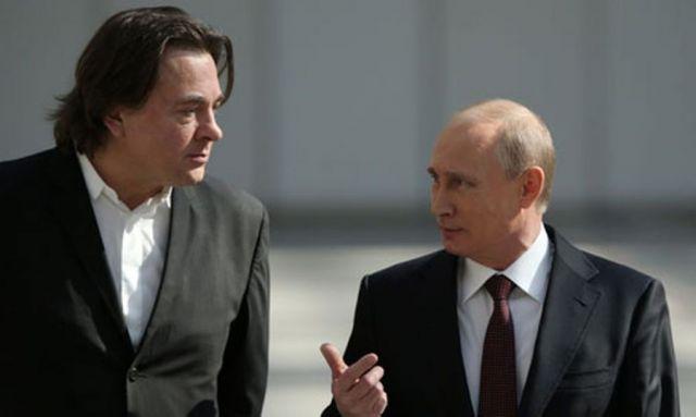Эрнст и Путин