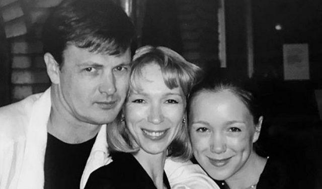 Марина Левтова с семьей