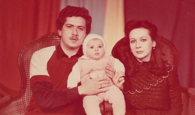 Наиля Аскерзаде с родителями