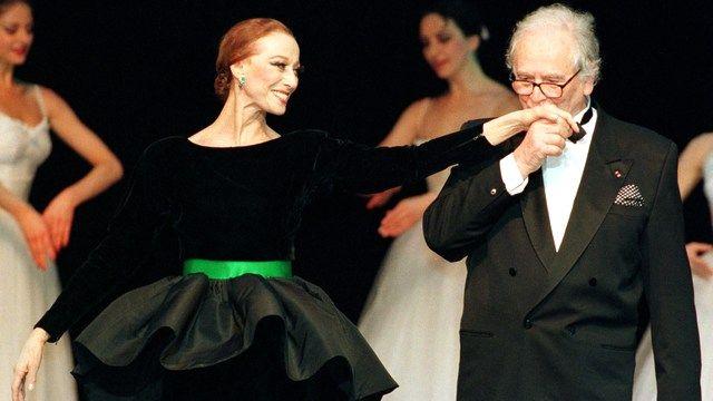 Карден с Майей Плисецкой