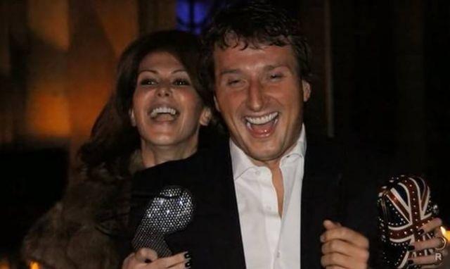 Регина Мянник с мужем