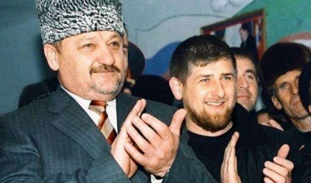 Рамзан Кадыров с отцом