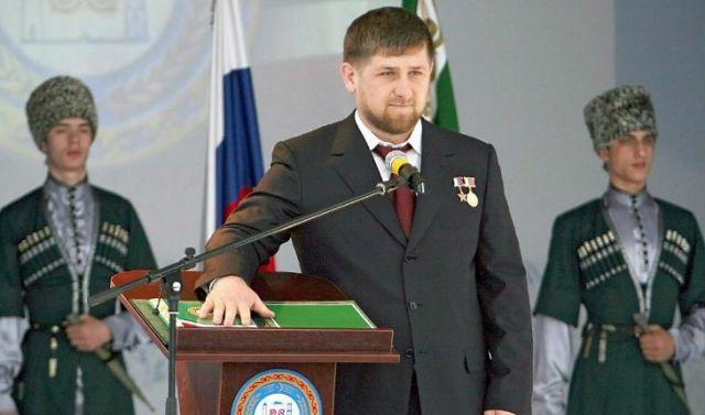 Инаугурация Кадырова