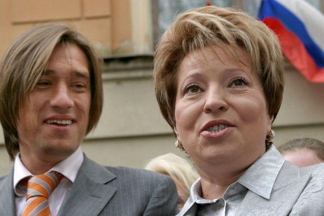 Сергей Владимирович Матвиенко с мамой