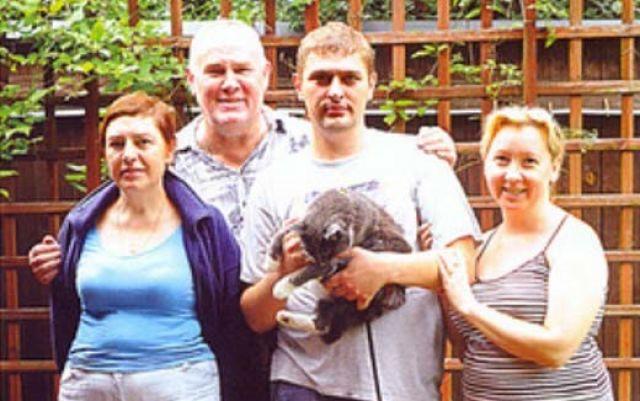 Валерий Хлевинский с женой и сыном