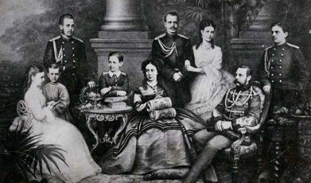 Семья Александра II