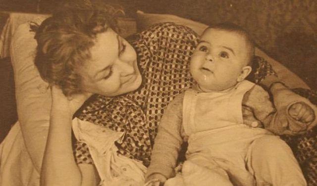 Андрей Ургант в детстве