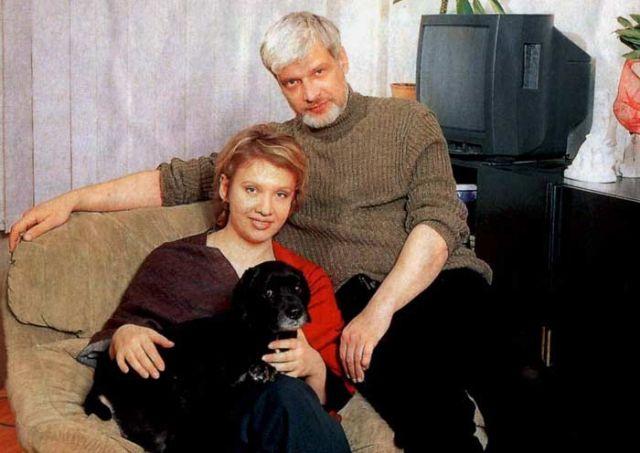 Брусникин с женой