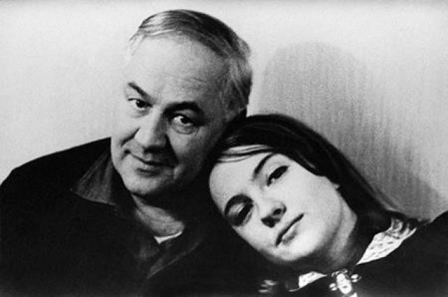 Екатерина Градова с отцом