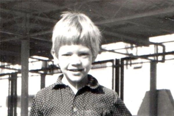 Евгений Ткачук в детстве