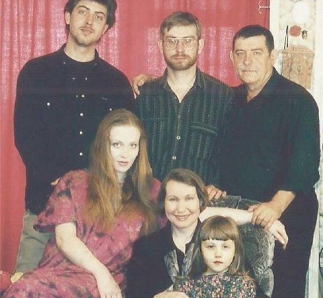 Юлия со Степаном Золотухиным и семьей