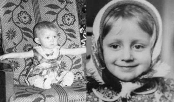 Наталья Поклонская в детстве
